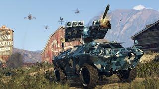 FINDING A CHEATER AND WREACKING HAVOC! | GTA V Gun Running DLC