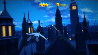 Disneyland Adventures Xbox 360 Kinect Peter Pan HD gameplay