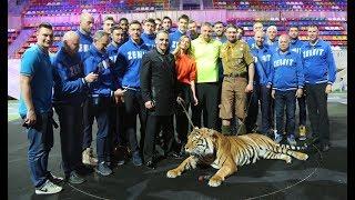 «Пожертвовали тренировкой, чтобы ребята улыбнулись!» «Зенит-Казань» в  цирке братьев Запашных!
