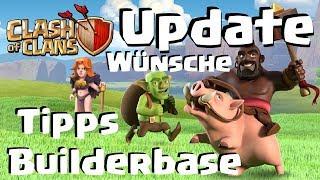 [479] Updatewünsche Hauptdorf? Builderbase Tipps | Rh9 Rh10 | Clash of Clans Deutsch COC
