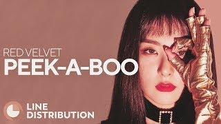 Download Lagu RED VELVET - Peek-A-Boo (Line Distribution) Mp3
