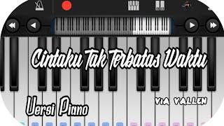 Cintaku Tak Terbatas Waktu _ Versi Piano not angka
