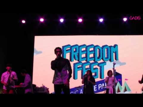 Afgan - Knock Me Out (Live at Freedom Fest 2015)