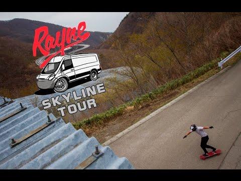 Rayne Longboards Skyline Tour Ep 1 - Exploring Tokyo, Japan