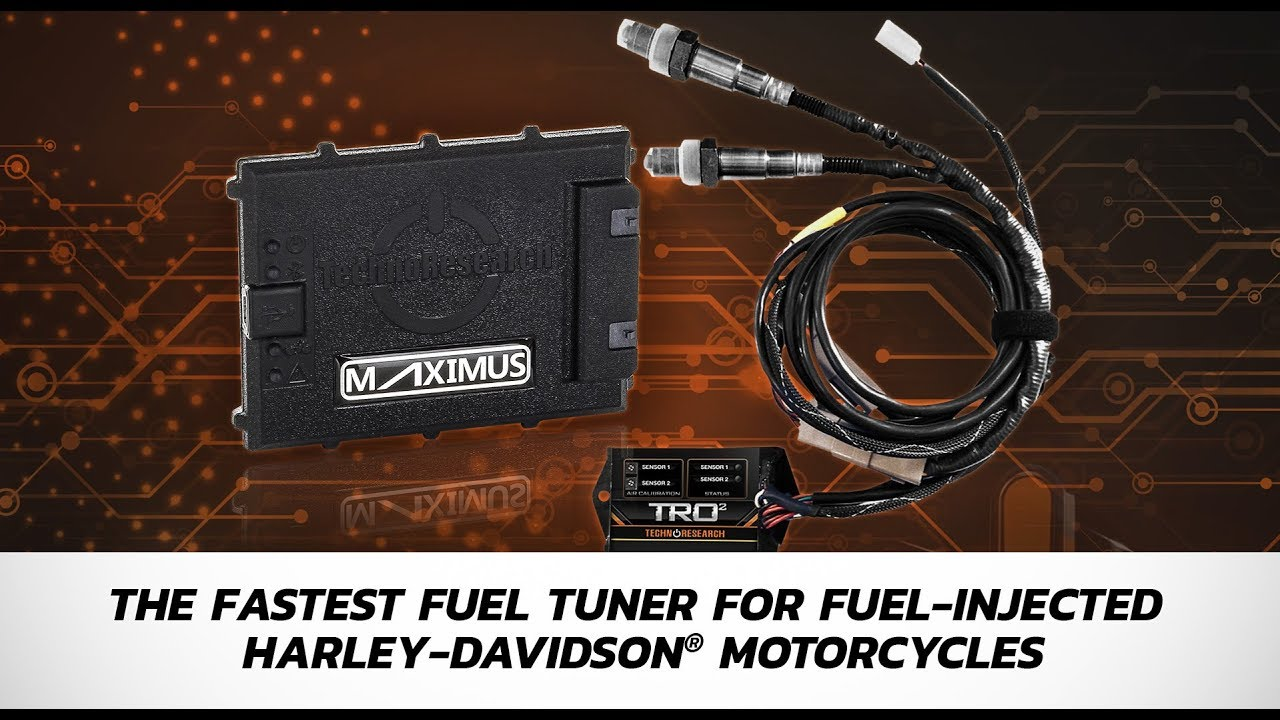 Professional V-Twin engine tuners - tune faster than ever with MAXIMUS