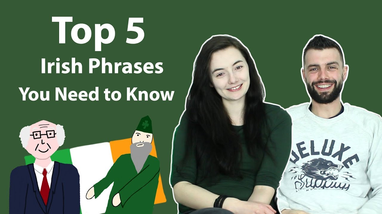 94104194bad St Patrick s Day - Top 5 Irish Phrases You Need to Know - YouTube