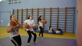 Примерный урок физкультуры (баскетбол)