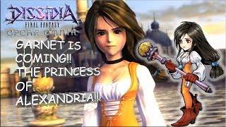 Dissidia Final Fantasy: Opera Omnia GARNET IS COMING!!! DETAILS, TIPS, & GAMEPLAY!!!