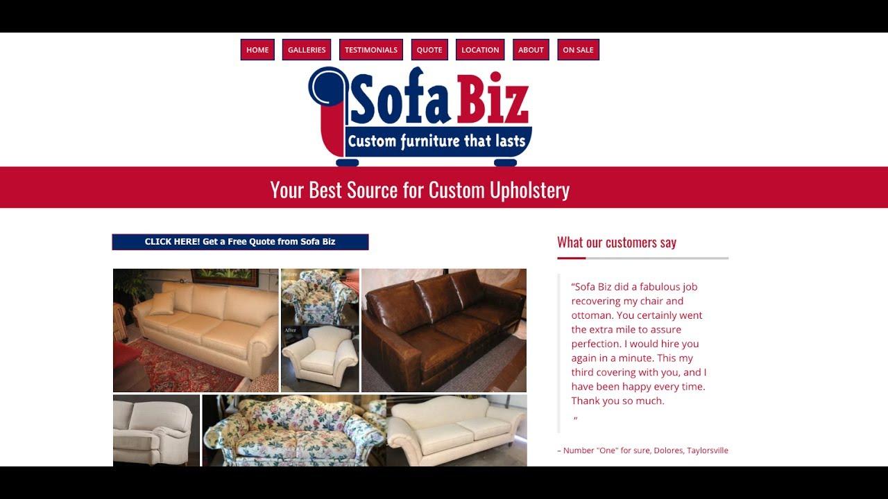 Best Reupholstery Salt Lake City | Reupholstery Salt Lake City Utah SofaBiz  801 984 2030