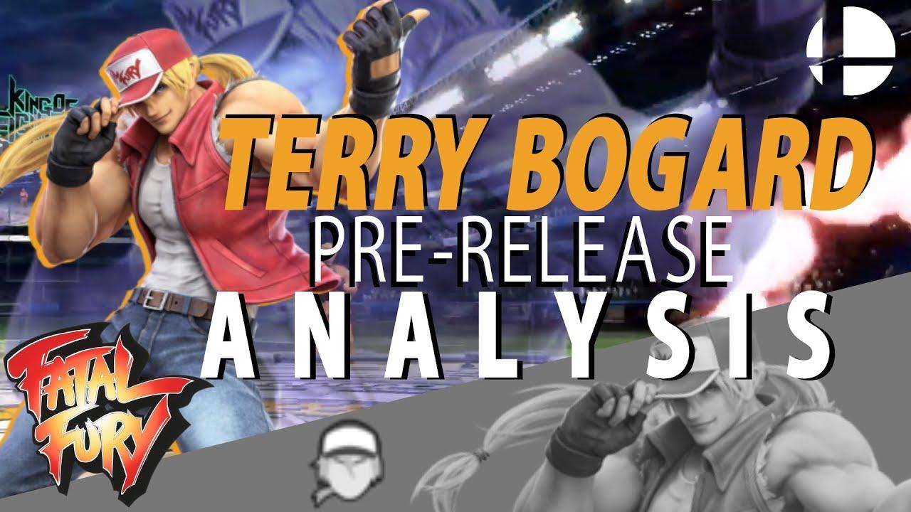 Terry Bogard PRE-RELEASE Analysis (Moveset Concept for Smash