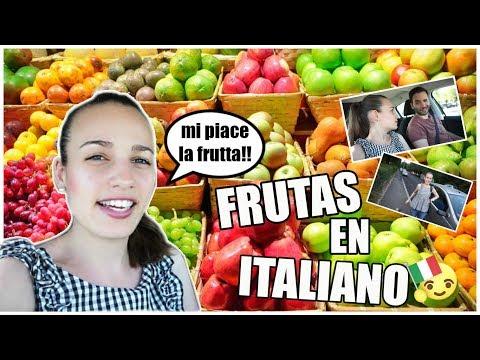 PRECIO Y NOMBRE DE LA FRUTA EN ITALIA /VLOG DIARIO/#61/VIVIR EN ITALIA