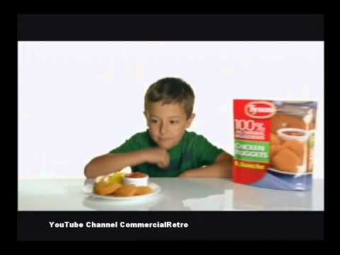 Tyson Chicken Nuggets 2012 Commercial - YouTube