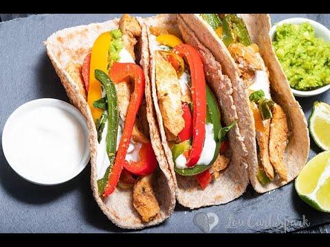 Super Easy Chicken Fajitas Low Carb | Keto | Paleo LowCarbSpark