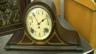 Plymouth T&S Mantel Clock 891M 33-5 Repair Preview