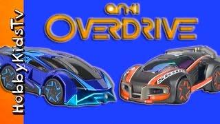 Anki OverDrive Race Track! Magnetic CARS Toy Review + App HobbyKidsTV