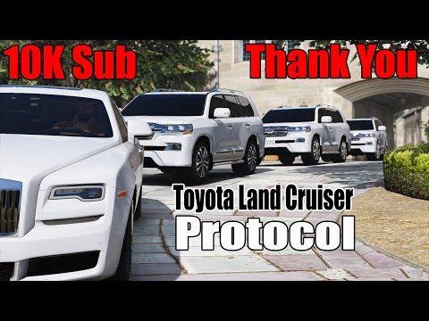 GTA 5 Pakistan | Toyota Land Cruiser | Protocol | 10K Celebration Party | The Gamers World