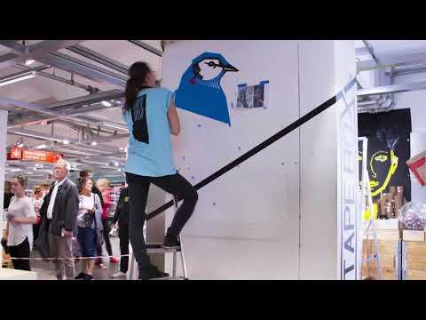 TAPE ART SHOWCASE by TAPE OVER // live @ Modulor Store Berlin