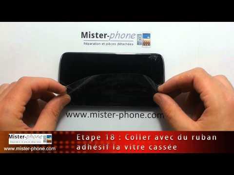 LG Nexus 4 E960 changer ecran LCD vitre tactile Tutoriel HD 1080p