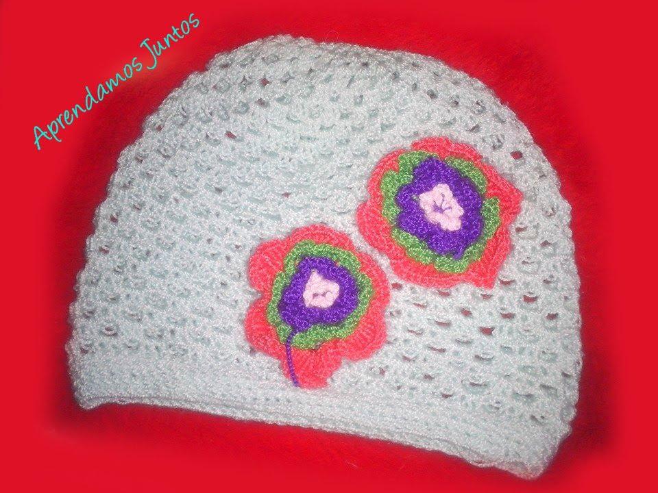 Como Tejer Un Gorro Para Niña En Crochet facil - YouTube