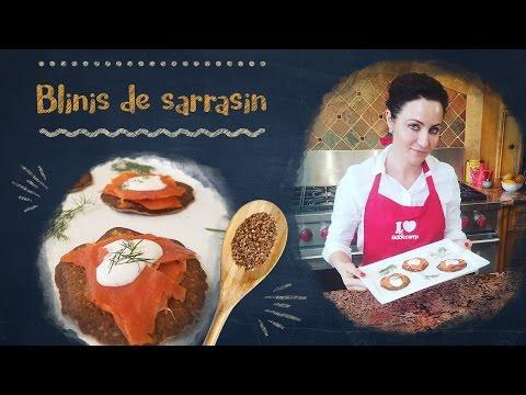 Blinis Faciles de Sarrasin pour l'Apéro, un Repas de Fête ou le Petit-Déjeuner