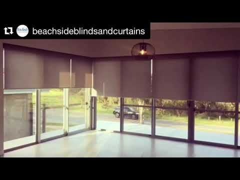 Internal Motorised Blinds - Somfy x Beachside Blinds & Curtains