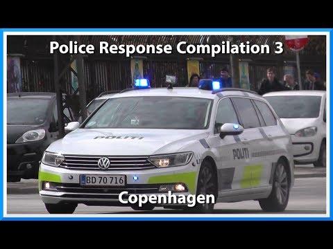 Copenhagen Police Response Compilation 3