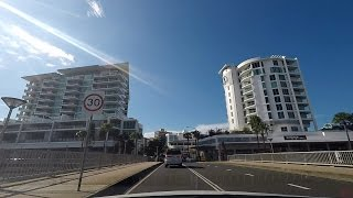 Driving Through Maroochydore, Sunshine Coast Queensland Australia