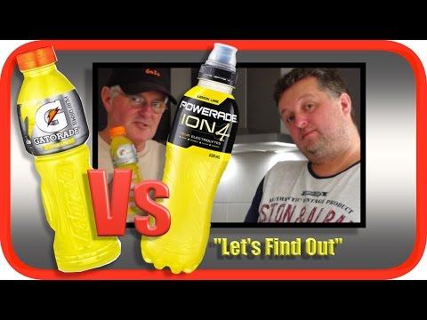 GATORADE (Pepsico) Vs POWERADE (Coca Cola) | Taste Test | GoJoMedia Geoff