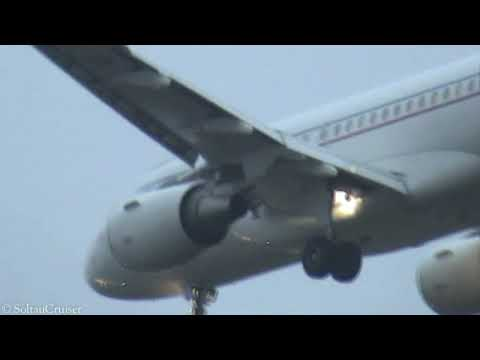 Air Force Ones (Heads Of Governments) Of Different Nations Arrive In Berlin (9th November 2009)