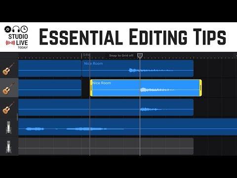 How to edit songs in GarageBand iOS - 3 tips