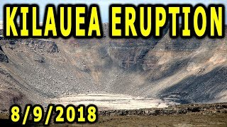 NEWS UPDATE Hawaii Kilauea Volcano Eruption for 8/9/2018
