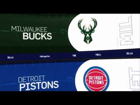 Milwaukee Bucks vs Detroit Pistons Game Recap | 1/29/19 | NBA