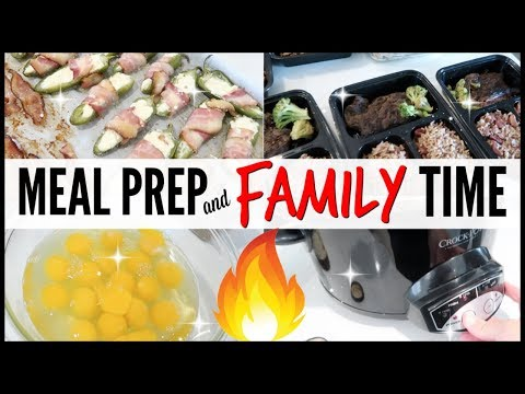🔥ditl-●-day-in-the-life-vlog-●-weekly-family-keto-meal-prep-dinners-●-clowning-around-cleaning