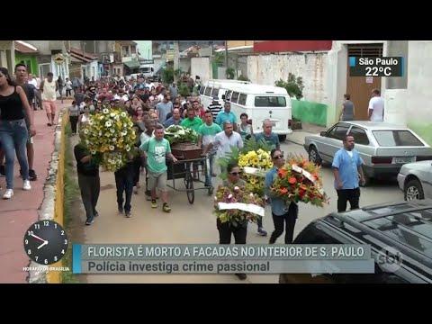 Morte de florista causa comoção em Aparecida, no interior de SP | SBT Brasil (17/03/18)
