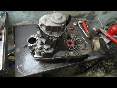 Ремонт КПП  ВАЗ 2112  №1 снятие ,разборка .