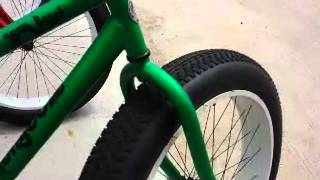 Mongoose Bike with Fat Tires. Not like the good ol' BMX bikes