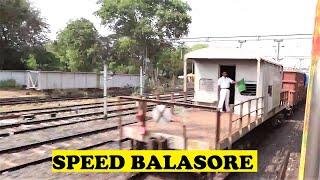 WAP4 Howrah Yesvantpur Duronto Rips Balasore