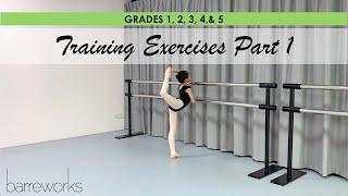 GRADES 1, 2, 3, 4 & 5 - Training Exercises Pt 1