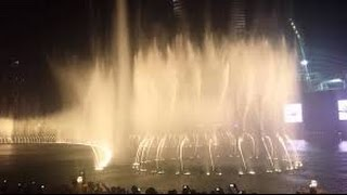 The world greatest dancing fountains Burj Khalifa