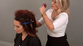 How to Do a Volumized Updo