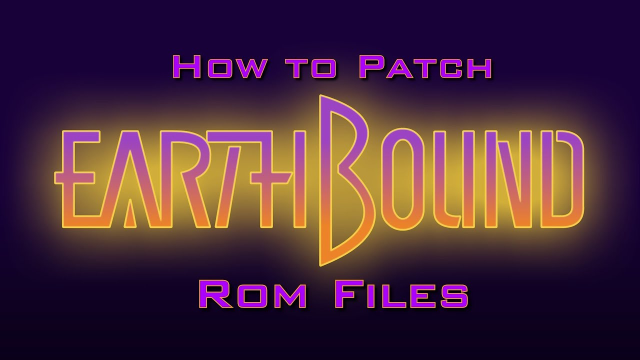 Tutorial - How to Patch EarthBound ROM Files (Jeffs No  1 Bass Fishing) w/  Gameplay!
