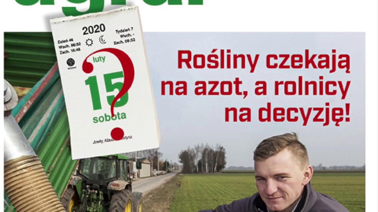 Azot na pola przed 1. marca? Lutowy numer magazynu top agrar Polska