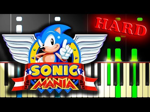 SONIC MANIA OPENING THEME - Piano Tutorial