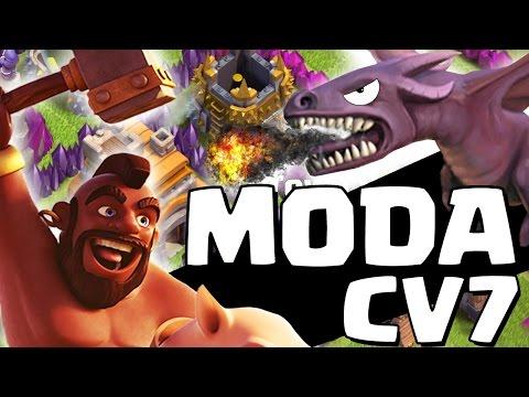 ESTRATÉGIA que VAI virar MODA no CV7 ! - Clash of Clans