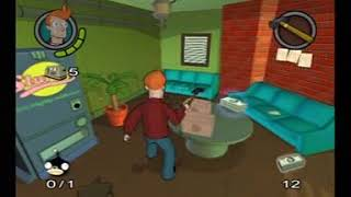 FUTURAMA PS2 GAMEPLAY