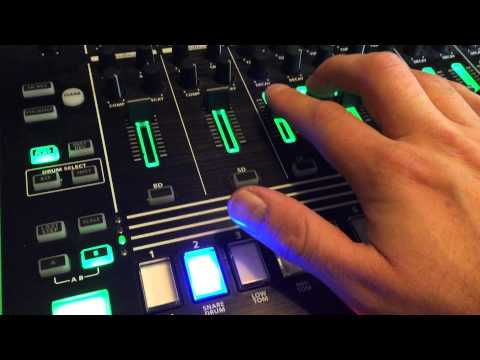 Electronic Body Music - The Basics. (Bass Station 2 and Roland TR8)