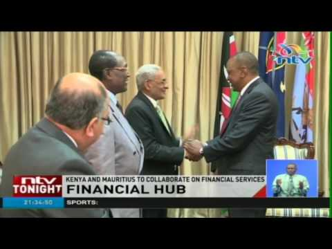 Kenya and Mauritius to collaborate on financial services