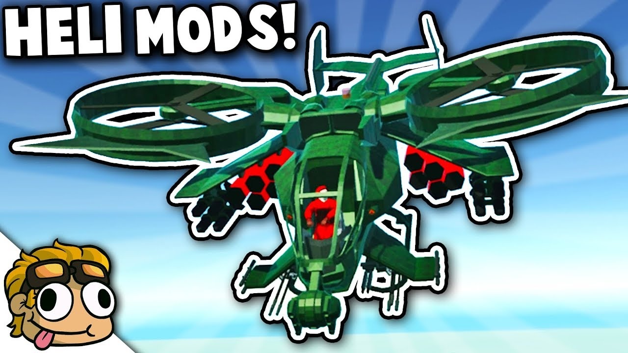 NEW HELICOPTER GUNSHIP MODS! | Ravenfield Best Mods Gameplay (Early Access  11)