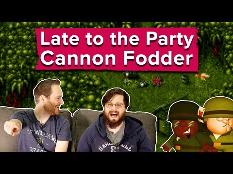 Let's Play Cannon Fodder - Late to the Party