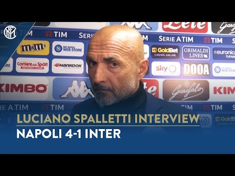 NAPOLI 4-1 INTER | LUCIANO SPALLETTI INTERVIEW: 'It's still all in our hands'